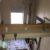 工作室のクリップファン台座を補強