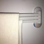 マグネット式の布巾掛けを改良