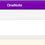 「Microsoft OneNote」がバグった?!