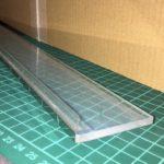 『600mm級の透明カッターガイド』の材料を小分け売り