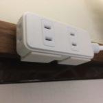 フック穴の無い電源タップやハブにフック穴を増設する!