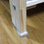 小さな家具転倒防止板を作ってみた